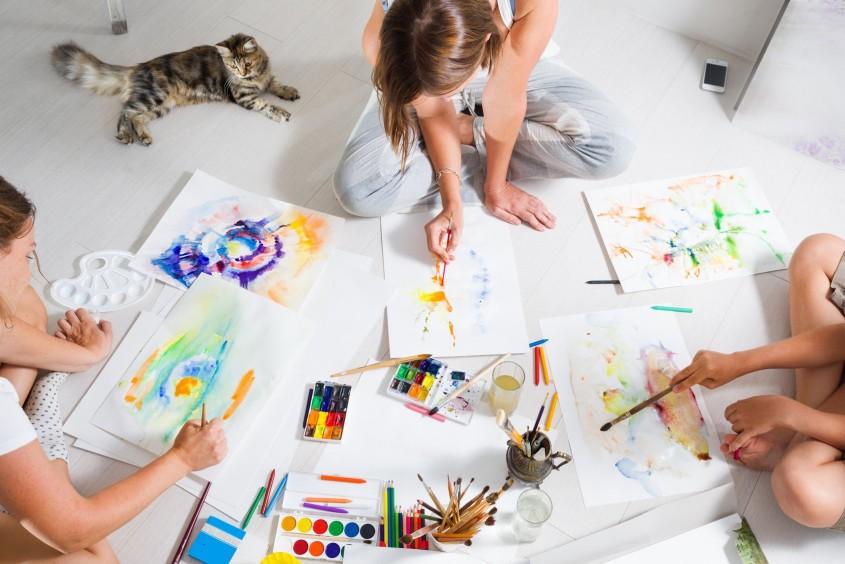Zajęcia plastyczne dla dzieci i młodzież