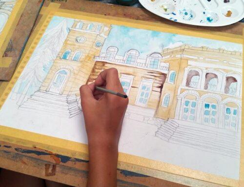 Skoki 2017 – letni plener artystyczny z Malowaną Kuźnią