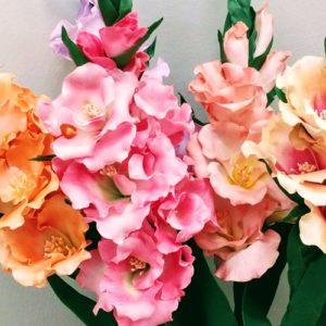 Maraton kwiatowy - Mieczyki. Fotorelacja z warsztatów