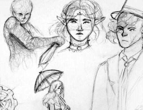 """""""Steam, Retro, Cyber i inne punki"""" – intensywny kurs rysunku fantasy dla młodzieży"""