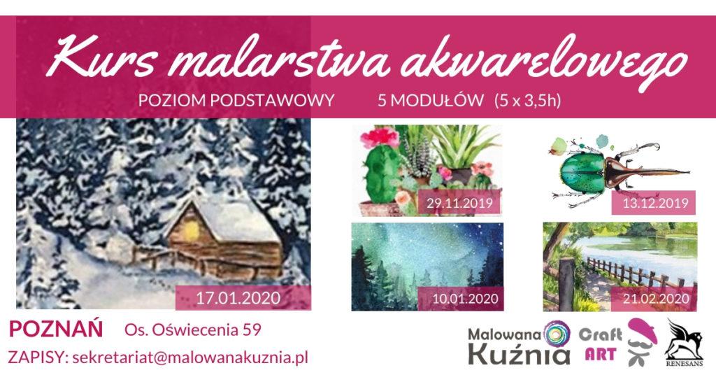 malowana-kuznia-akwarela-zima