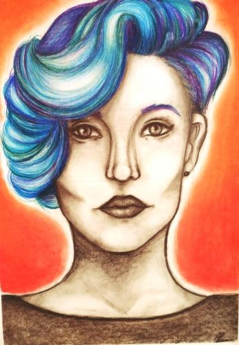 Rysujemy portret z Malowaną Kuźnią