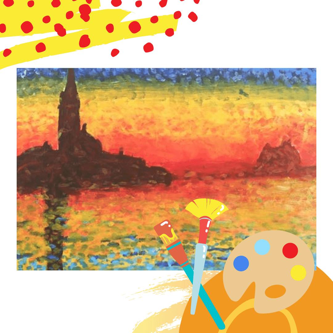 Uczymy dzieci rysować i malować w Malowanej Kuźni