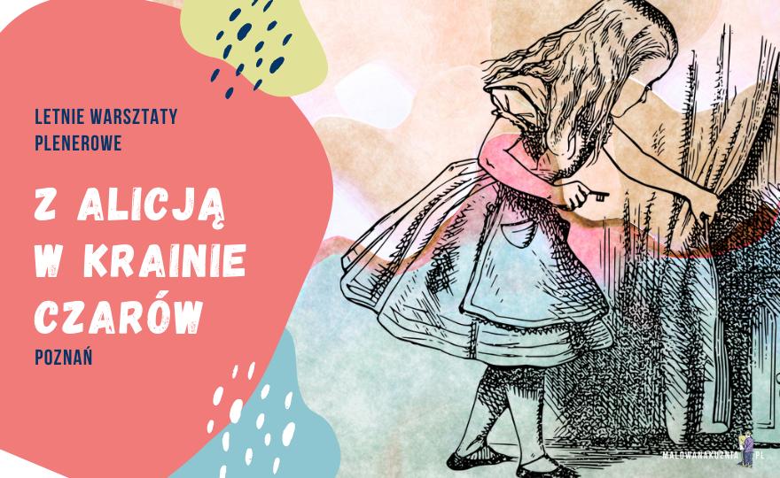 Tajemniczy ogród warsztaty malarskie dla dzieci i młodzieży w Poznaniu