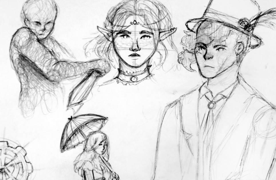 Steam, Retro, Cyber i inne punki. Kurs rysunku fantasy.