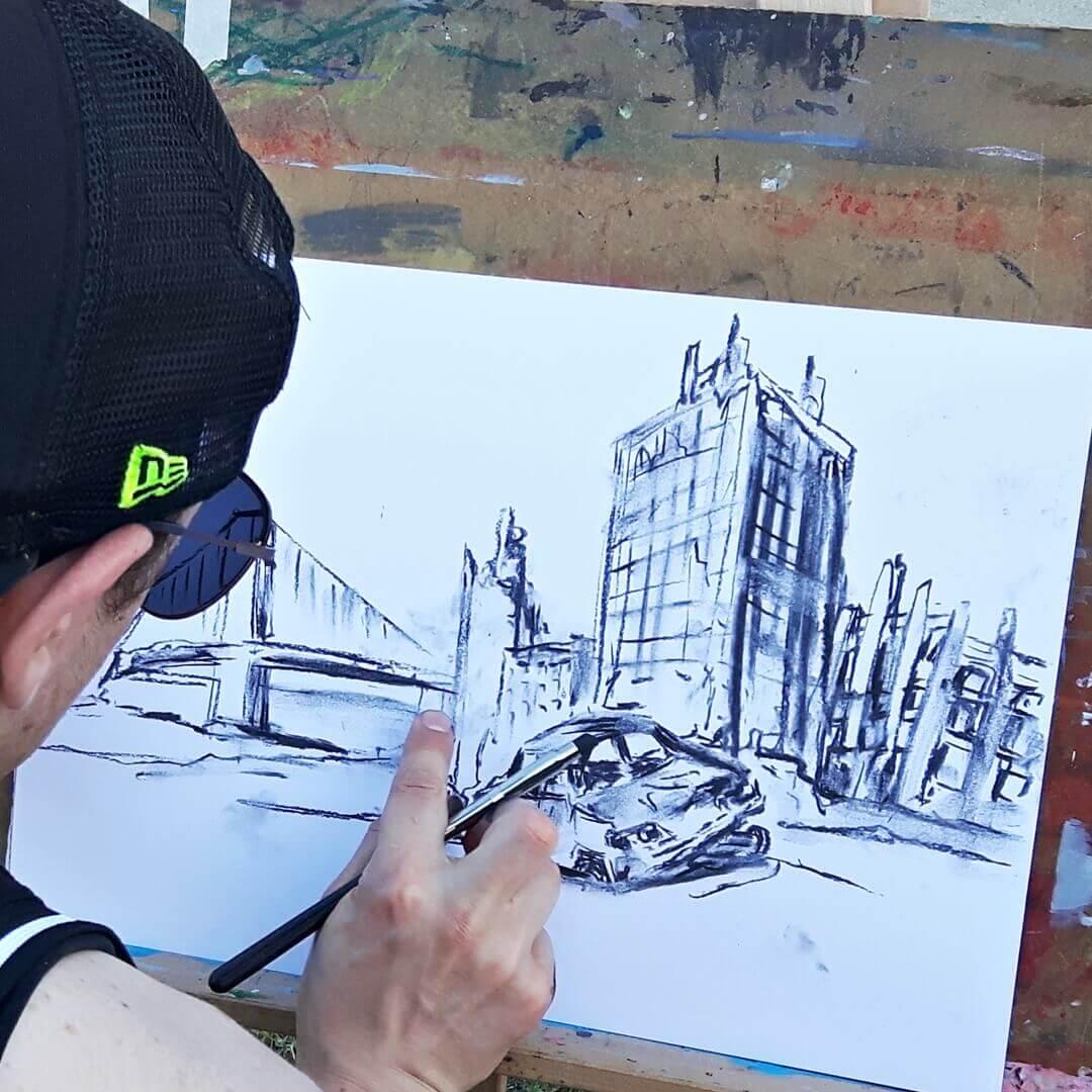 Uczymy dorosłych rysować i malować.
