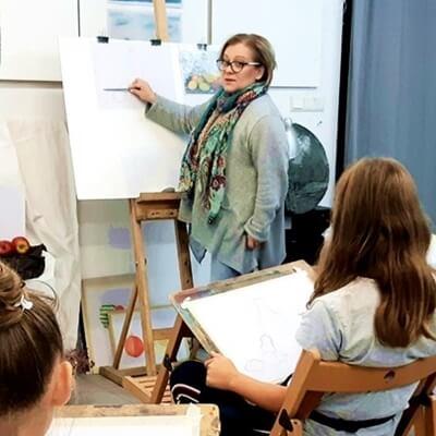 Ilona Hałazińska warsztaty z młodzieżą